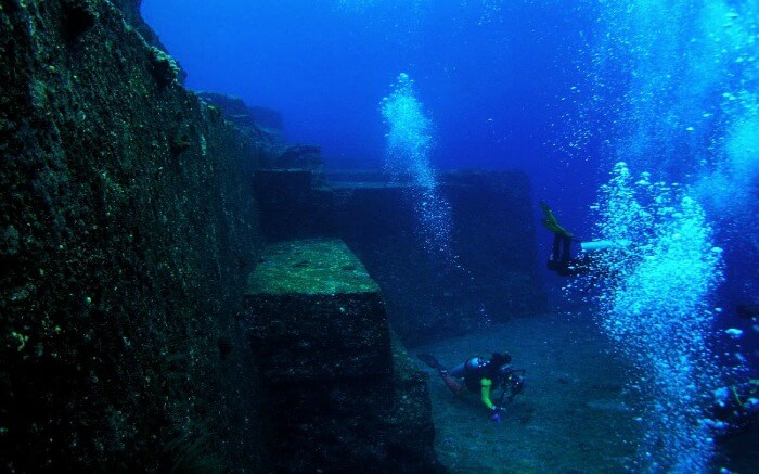 The Yonaguni Monument in Japan is a pyramid structure that was likely built around 10,000 BCE.
