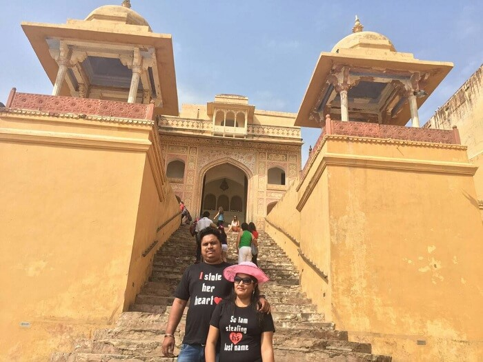 Princely fortress in Rajasthan