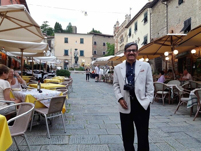 Mr. Abhishek in Montecatini Terme