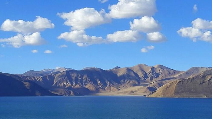 Beauty of the Pangong Lake in Ladakh