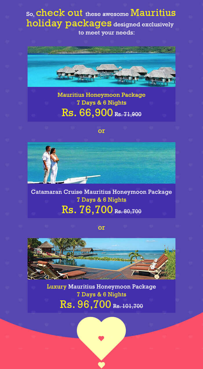 Some awesome Mauritius holiday packages for you to choose from