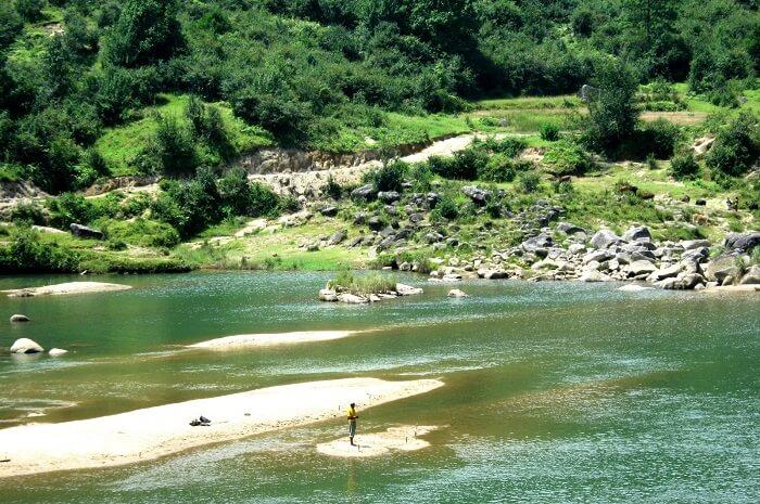 A view of landscape near Jakrem
