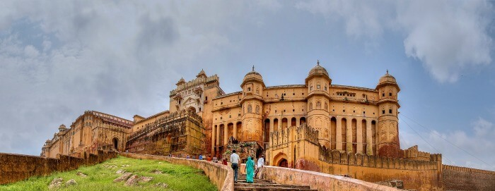 Check out the massive, unbelievably opulent Amber Fort