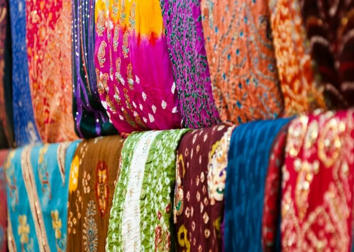 Buy Bandhani cloth material