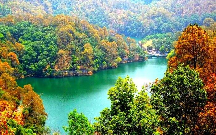 Perfect view of Nainital