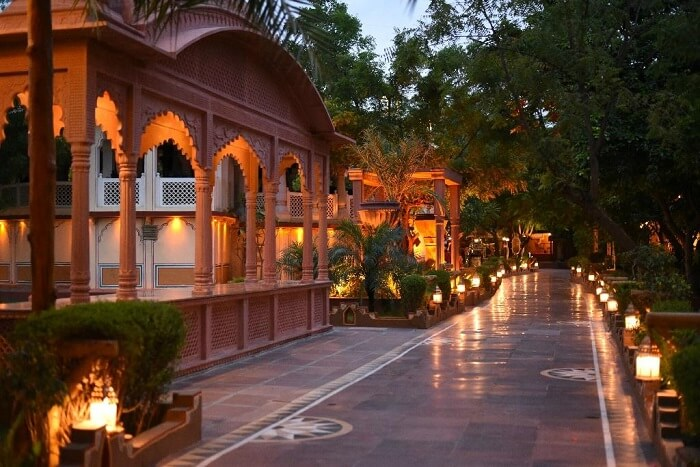 A glimpse of heritage of Chokhi Dhani in Rajasthan