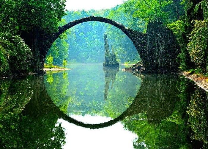 Pont du diable mystérieux