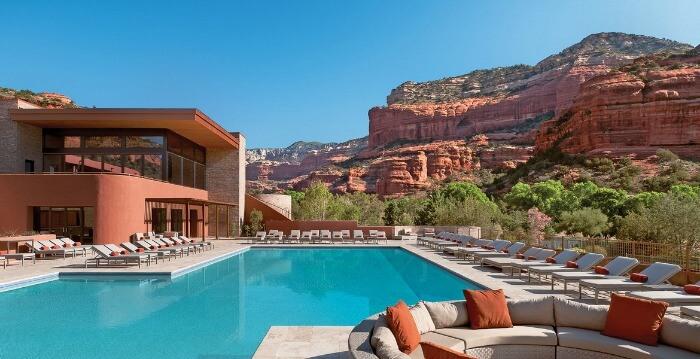 Pool bar at the Enchantment Resort & Spa