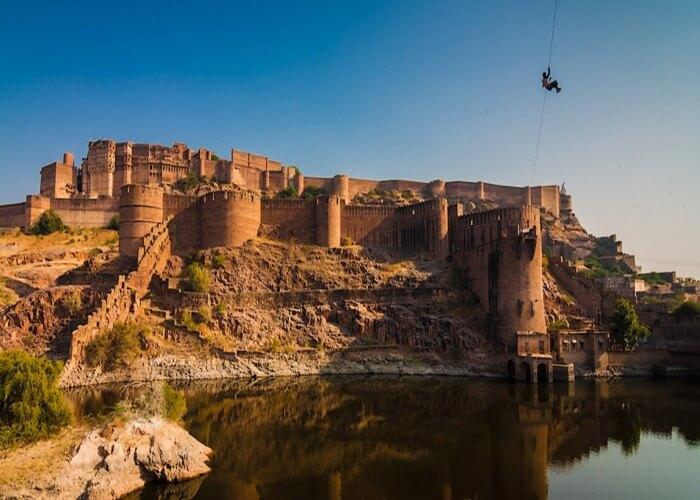 Enjoy Zip lining in Jodhpur