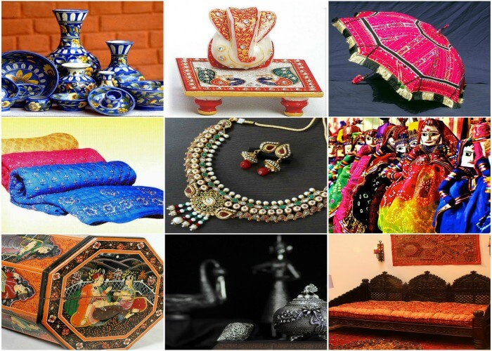 Choose from a variety of handicrafts for yourself