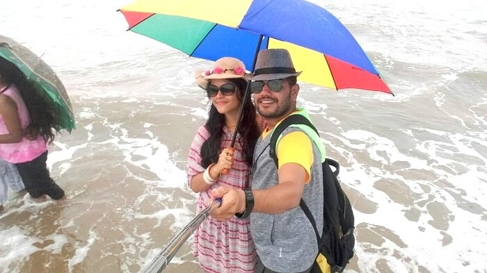 A rainy day in Goa
