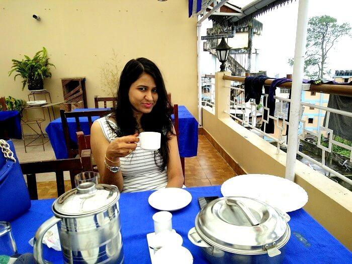 Rich aroma of Darjeeling Tea