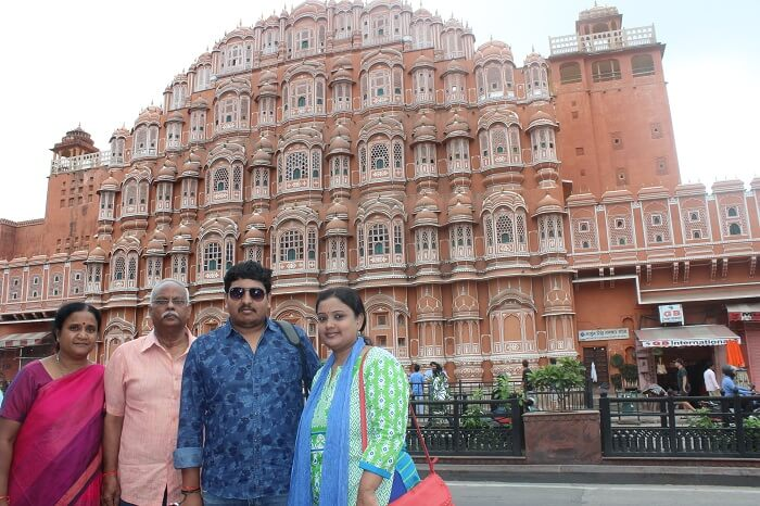 Local sightseeing in Jaipur