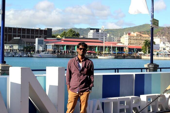 Zenith soaking the sun in Mauritius