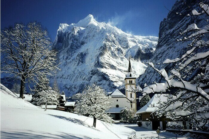 Lose yourselves in the snow capped splendor of Jungfrau