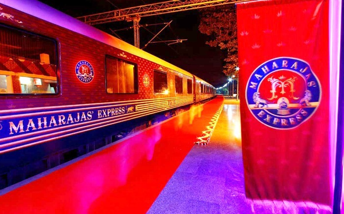 Enjoy the royal treatment on board the Maharajas' Express