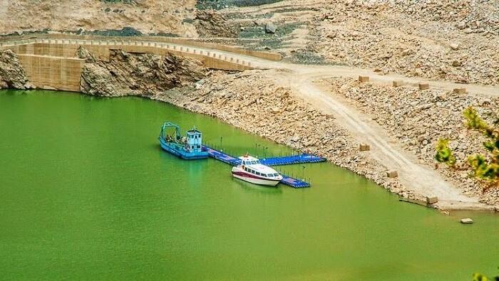 Matatila Dam in dhanaulti