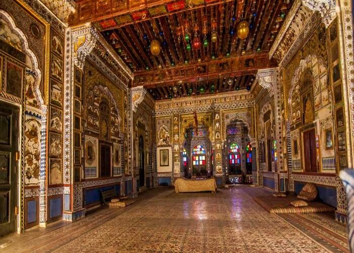 A glimpse of grand architecture of Mehrangarh Fort