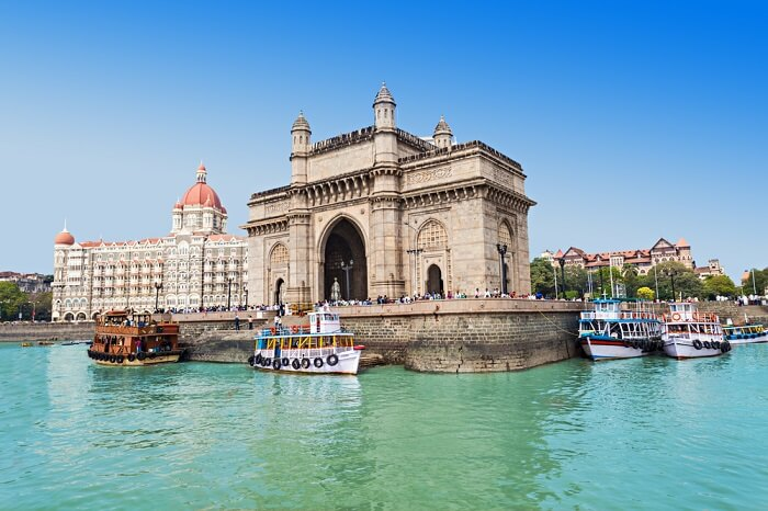 Gateway of India at Mumbai in India