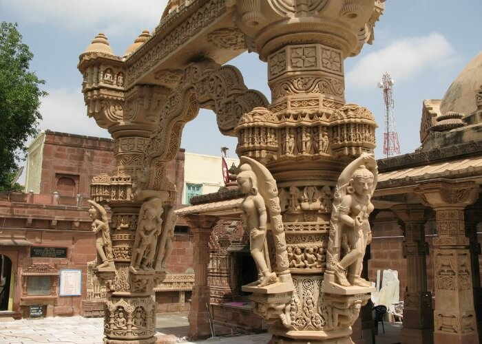 A mesmerizing view of the grand architecture of the Osian Temple
