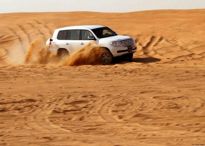 Enjoy thrilling desert safari