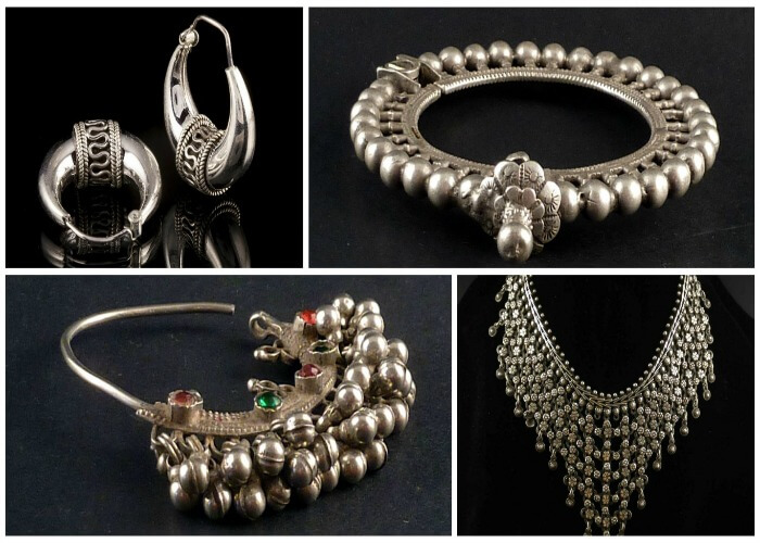 Indulge in silver jewelry shopping in Sarafa bazar