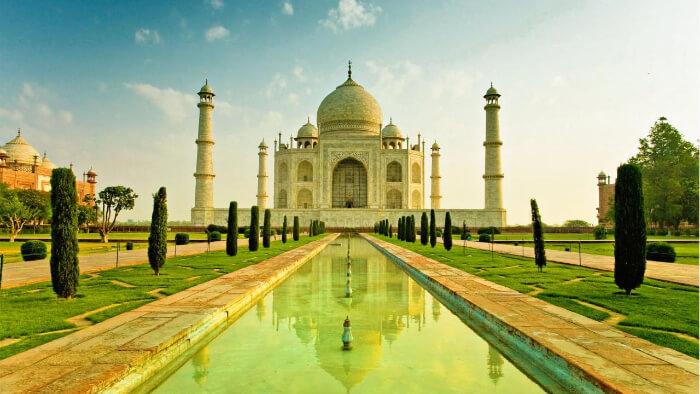 Taj Mahal in Agra, UP