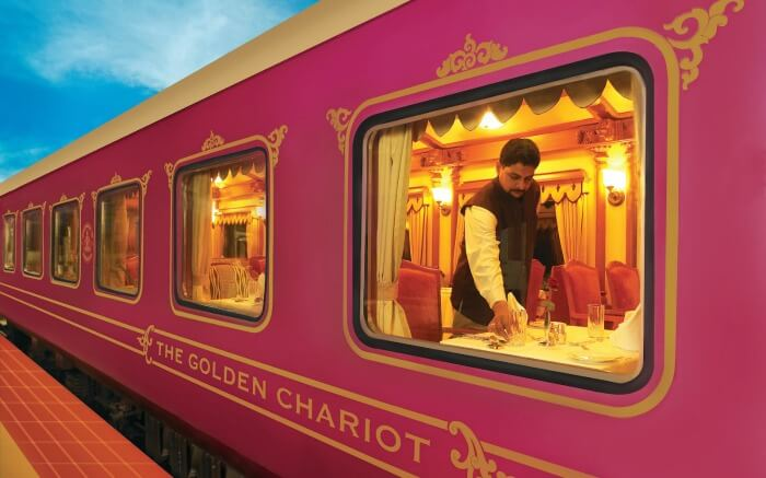 The Golden Chariot - Indian luxury train