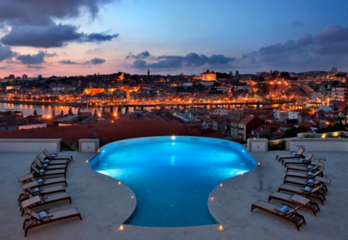Magnificent views of Portugal from The Yeatman
