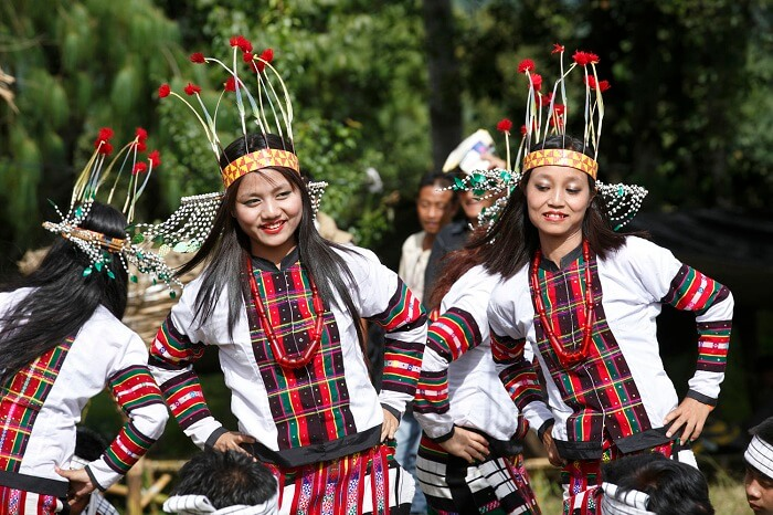 Tribal dances under an open sky at Ziro Festival