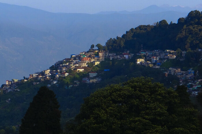 The picturesque Pedong in Kalimpong