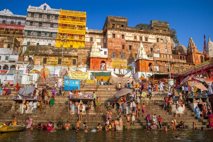 Budget stays in Varanasi in India