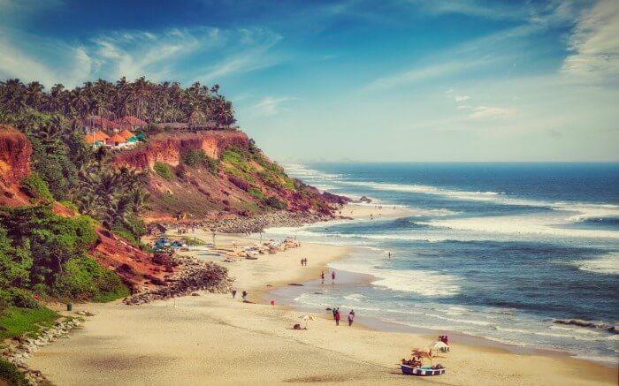 Perfect day at Varkala Beach