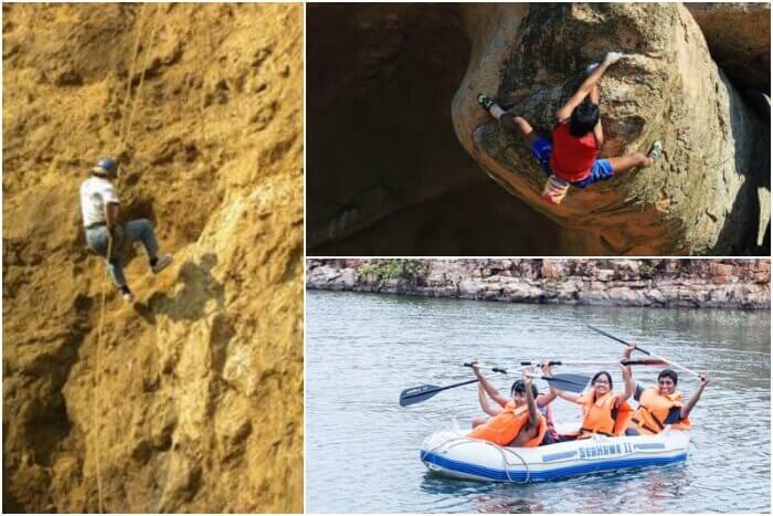 Indulge in a number of adventure activities in Gandikota