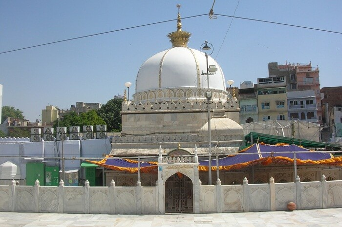The holy Ajmer Sharif Dargah in Ajmer region of Rajasthan