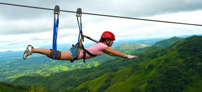 dhanaulti adventure park ziplining