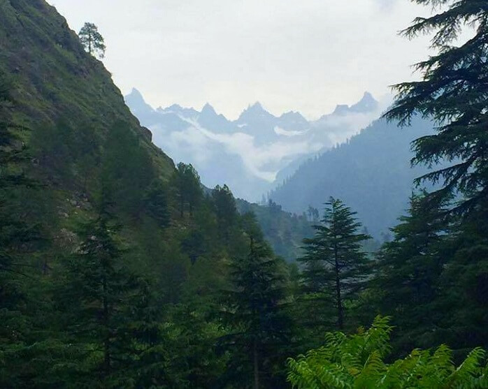 Arriving at the green land of Kasol