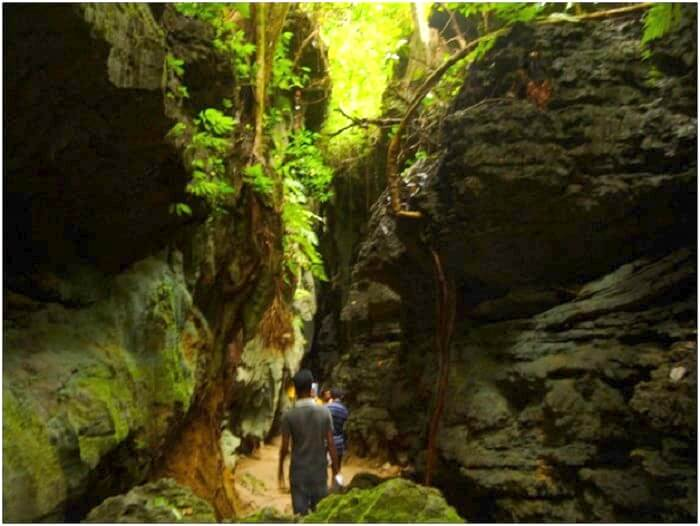 Trek to reach Baratang in Andaman