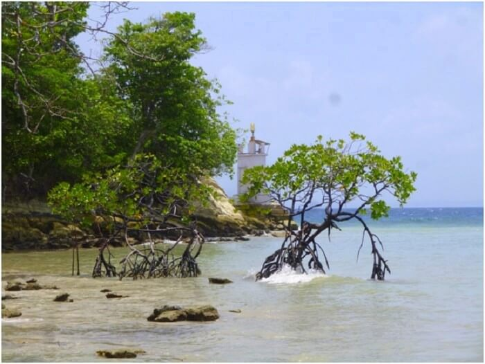 Lighthouse beach in Andaman island