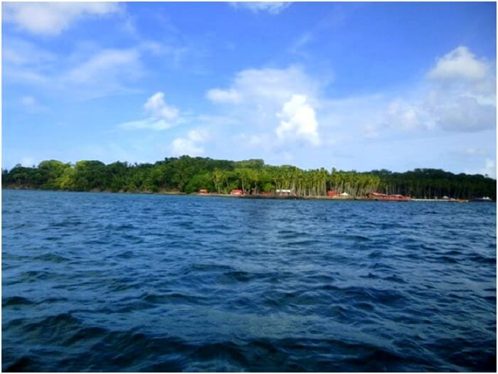 Blue waters of Andaman