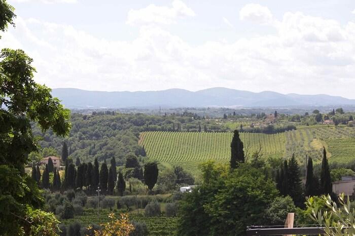 Scenic Landscape of Tuscany
