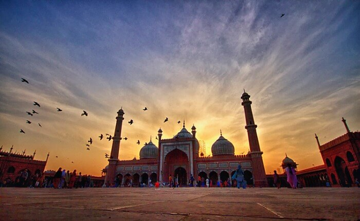 Jama Masjid, the largest and most beautiful mosque in India