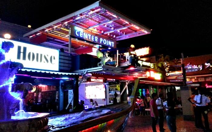 Bustling Ao Nang Center Point in Krabi
