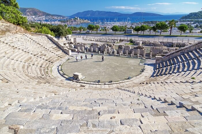 Bodrum Amphitheatre offering one of the best sights located in central Bodrum