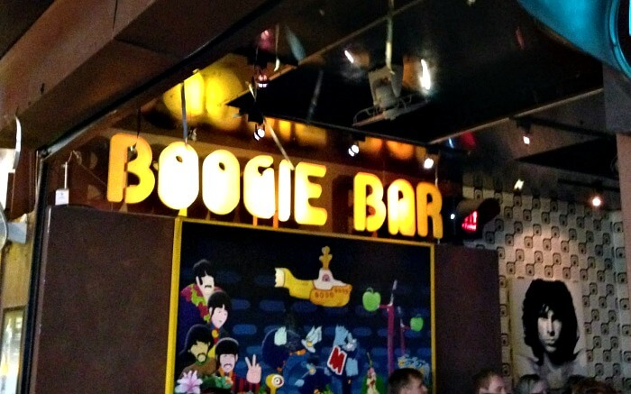 Boogie Bar in Ao Nang - it is frequently visited by nightlife lovers