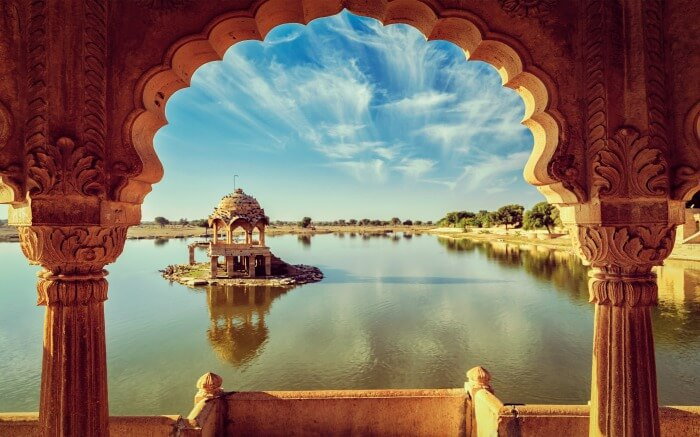 Gadisar Lake is among the most beautiful lakes of Rajasthan
