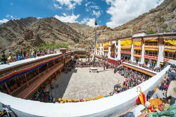 Hemis Festival 2014 in Hemis Monastery
