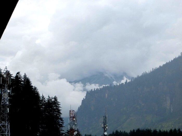 Mist and clouds in Lower Himachal