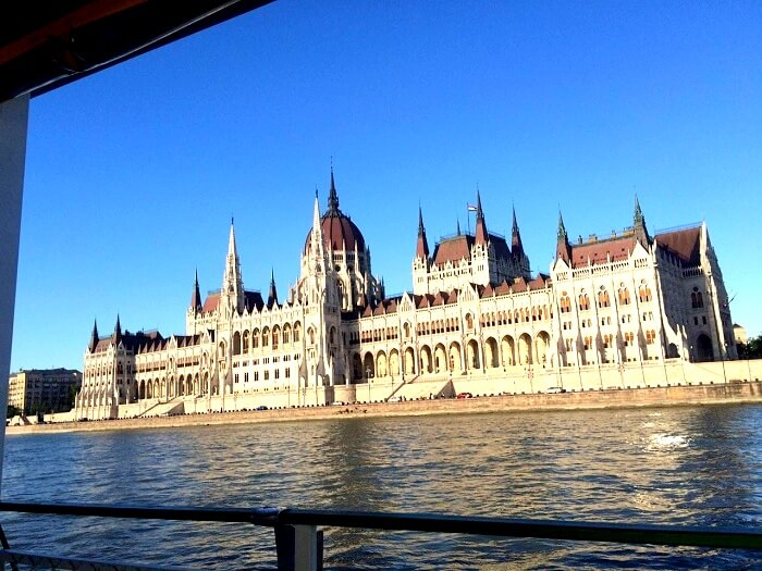 Boat cruise in Hungary