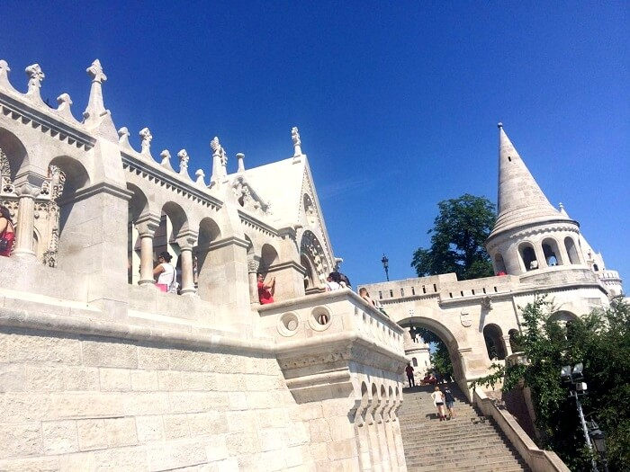 Exploring the Buda part of the city